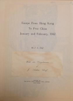Hong Kong Royal Scots Second World War HKVDC Middlesex Banham 1941